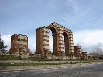 Philippopolis (Thrace) - The Roman aqueduct on Komatevsko Shose