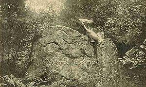 Mason, New Hampshire - Wolf Rock in 1909