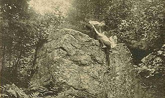 Mason, New Hampshire - Wolf Rock in 1909