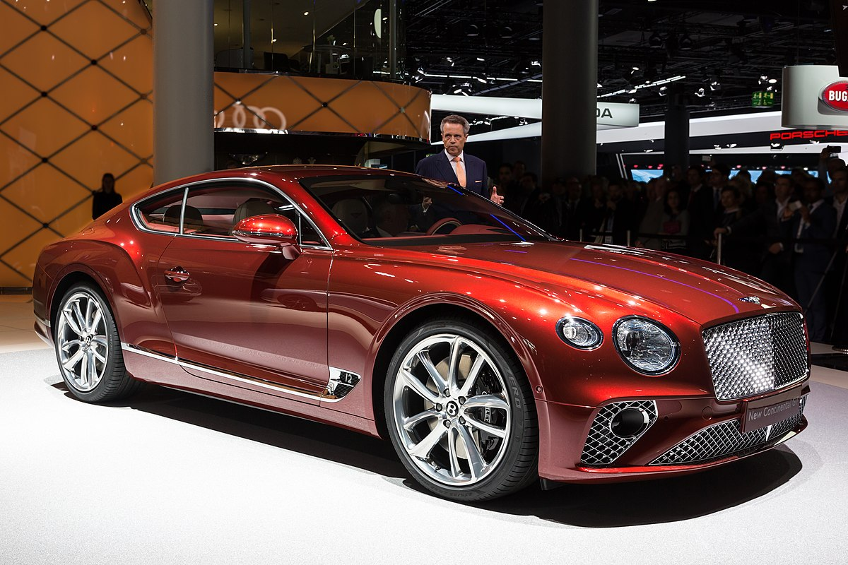 Bentley Continental GT - Wikipedia
