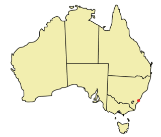 Geography of Wollongong