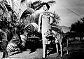Woman with two dogs - circa 1960 01.jpg