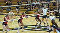 Women's volleyball, Fresno State at Cal 2010-09-11 12.JPG