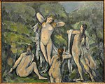 Women Bathing by Paul Cézanne, 1900 - Ny Carlsberg Glyptotek - Copenhagen - DSC09461.JPG