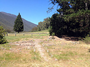 Wonnangatta - The remains of the Wonnangatta Station, 2014