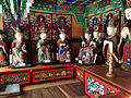 Wooden Ksitigarbha Bodhisattva Triad Statues And Ten Kings Statue at Cheonggoksa 04.JPG