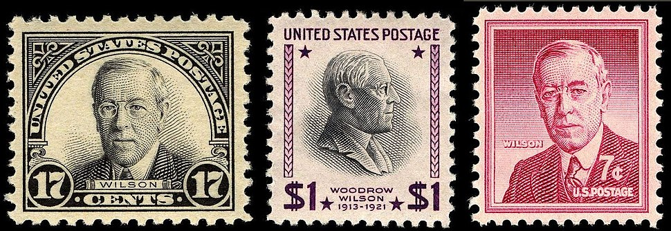 Woodrow Wilson postage stamp issues.jpeg