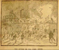 Workers attack Frick coal mine 1891.png