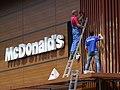 Workers on McDonald's Facade - Odessa - Ukraine (26862851342).jpg