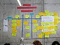 Working on Movement Strategy at the Wikimedia Hackathon 2018.jpg