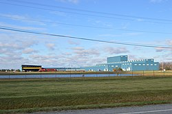 Worthington Industries factory west of Delta