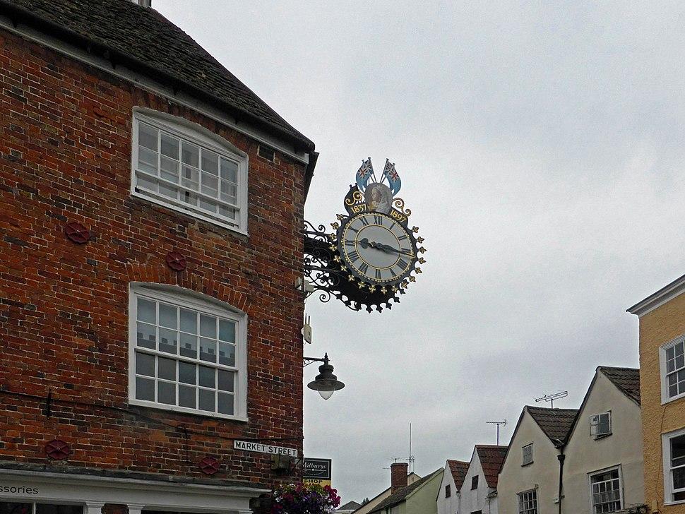 Wotton-under-Edge Jubilee clock arp