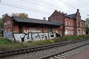Wusterwitz - Image: Wusterwitz Bahnhof (01)