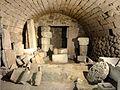 Wy-dit-Joli-Village (95), musée de l'Outil, balnéaire romain, tepidarium, foyer 3.JPG