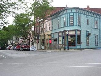 Wyalusing, Pennsylvania - Downtown Wyalusing in July 2012
