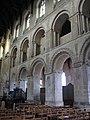 Wymondham Abbey - Norman arcading - geograph.org.uk - 1962590.jpg