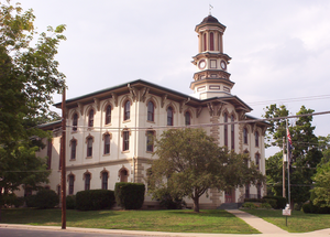 Wyoming County Courthouse in Tunkhannock