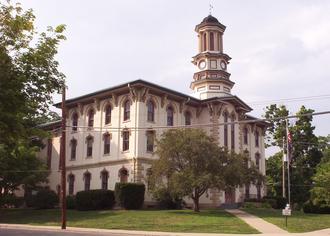 Wyoming County, Pennsylvania - Image: Wyoming co pa courthouse