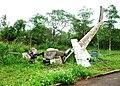 Xác máy bay bị bắn rơi ở Khe Sanh.JPG