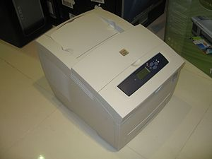 Solid ink - A Xerox Phaser 8500 solid ink printer