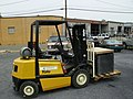 Yale forklift Our Community Place Harrisonburg VA May 2008.jpg