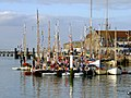 Yarmouth Harbour during Old Gaffers Festival 2009 2.jpg