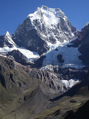 Yerupajá - East Face, Yerupajá, May 2006