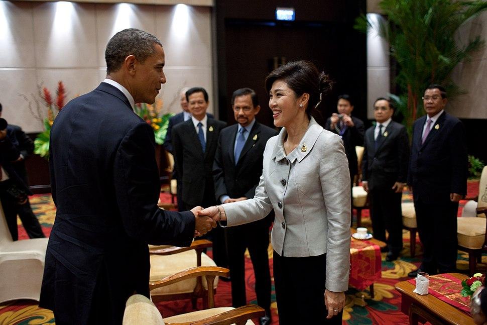 Yingluck and Obama