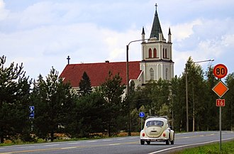 Ylistaro - Ylistaro Church