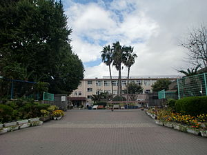 Yoshino Junior High School at Kagoshima.JPG