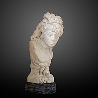 Young girl spying by Auguste Rodin-S 2491-IMG 1105-gradient.jpg