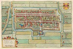 IJsselstein - Image: Yselstein 1649 Blaeu 1 van 4