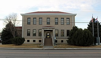 Yuma County, Colorado - Image: Yuma County, Colorado Court House