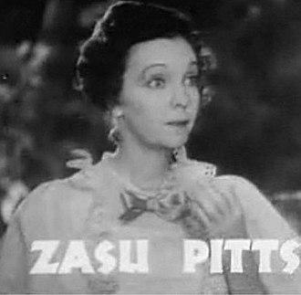 ZaSu Pitts - Zasu Pitts in 1935