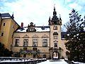 Zamek Kliczków, widok od frontu.JPG