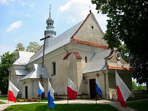 Zawichost - Holy Trinity Church