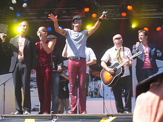 Langelandsfestivalen - Danish band Zididada in 2006