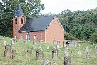 Zion Evangelical Lutheran Church Cemetery - Image: Zion Cemetery