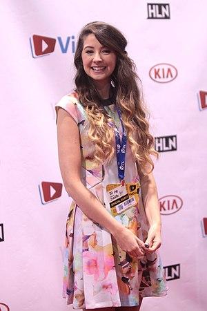 Zoella - Sugg at VidCon 2014