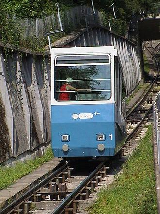 Oberstrass - Funicular Rigiblick