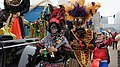 Zulu Parade on Basin Street New Orleans Mardi Gras 2013 by Miguel Discart 01.jpg