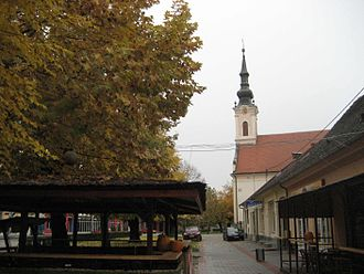 Županja - Županja city center