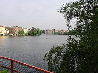 Dahmemündung in die Spree in Berlin-Köpenick