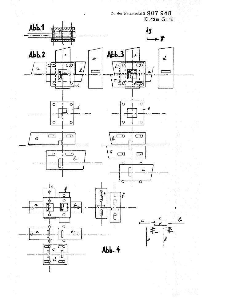 Zuse Patent 907948