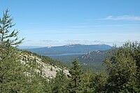 Zyuratkul range and Zyuratkul lake.JPG
