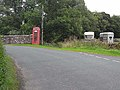 """""""Coins not accepted here"""" - phone box near Cleuch Head - geograph.org.uk - 1430019.jpg"""