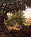 'Cattle Drive near the Mission' by Edwin Deakin, 1876.jpg