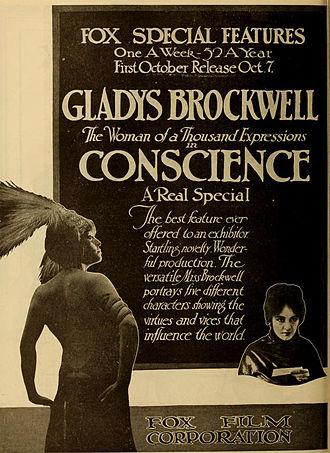 Gladys Brockwell - Conscience (1917)