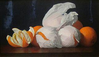 Oranges in Tissue Paper
