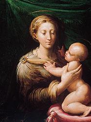 Parmigianino: Madonna and Child